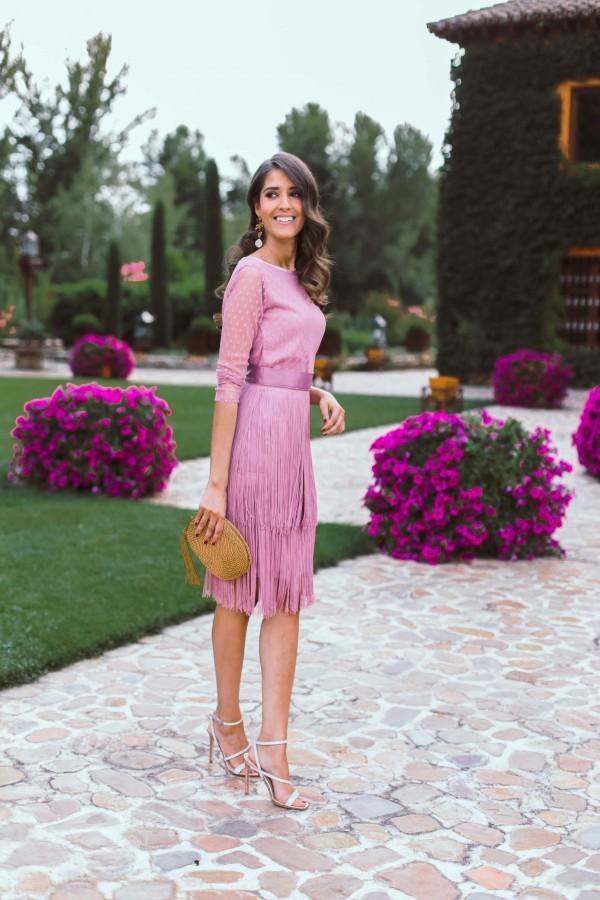 blusa mujer bailen color rosa