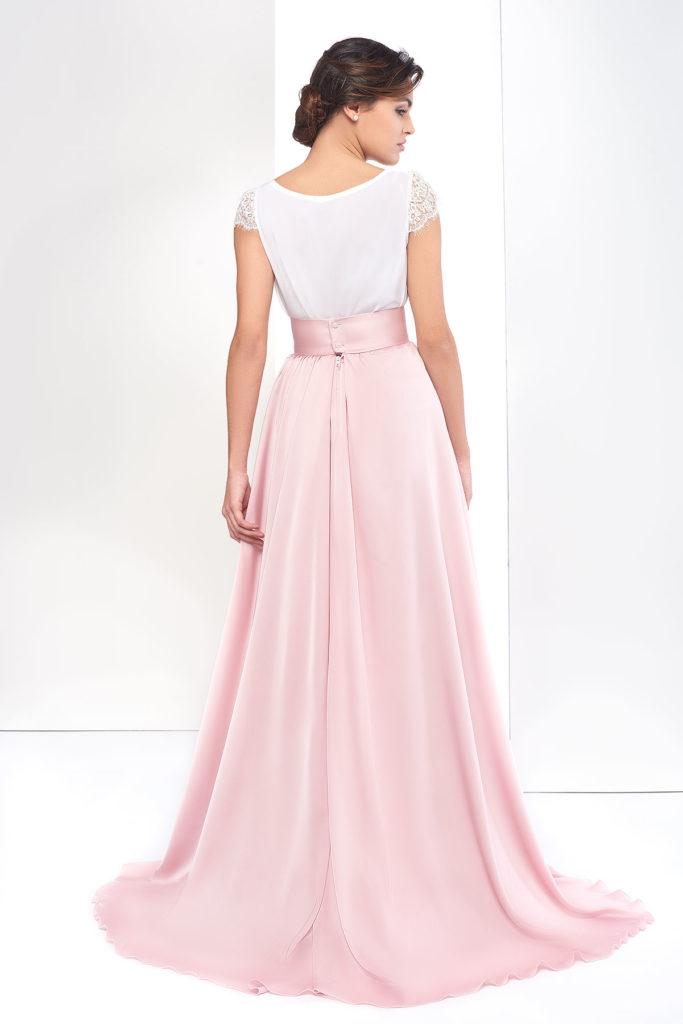 falda larga diseño de fatima angulo invitada